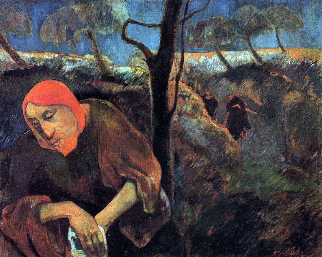 Christ In The Garden Of Olives By Paul Gauguin Hand Painted Oil
