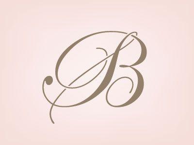 Bridal Monogram Hand Lettering Art Monogram Hand Lettering Alphabet
