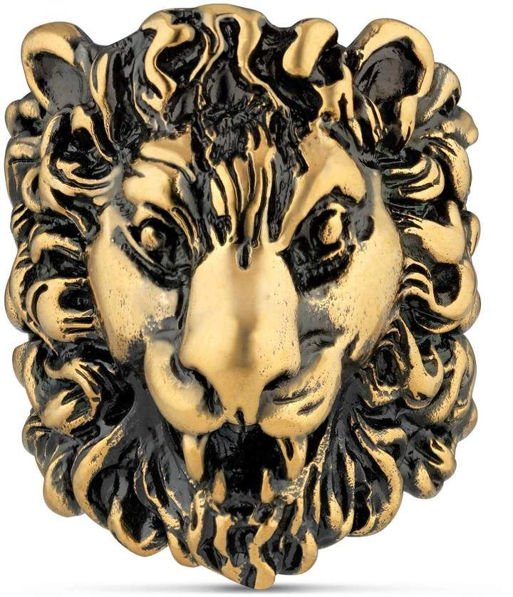 Photo of Gucci Lion head ring