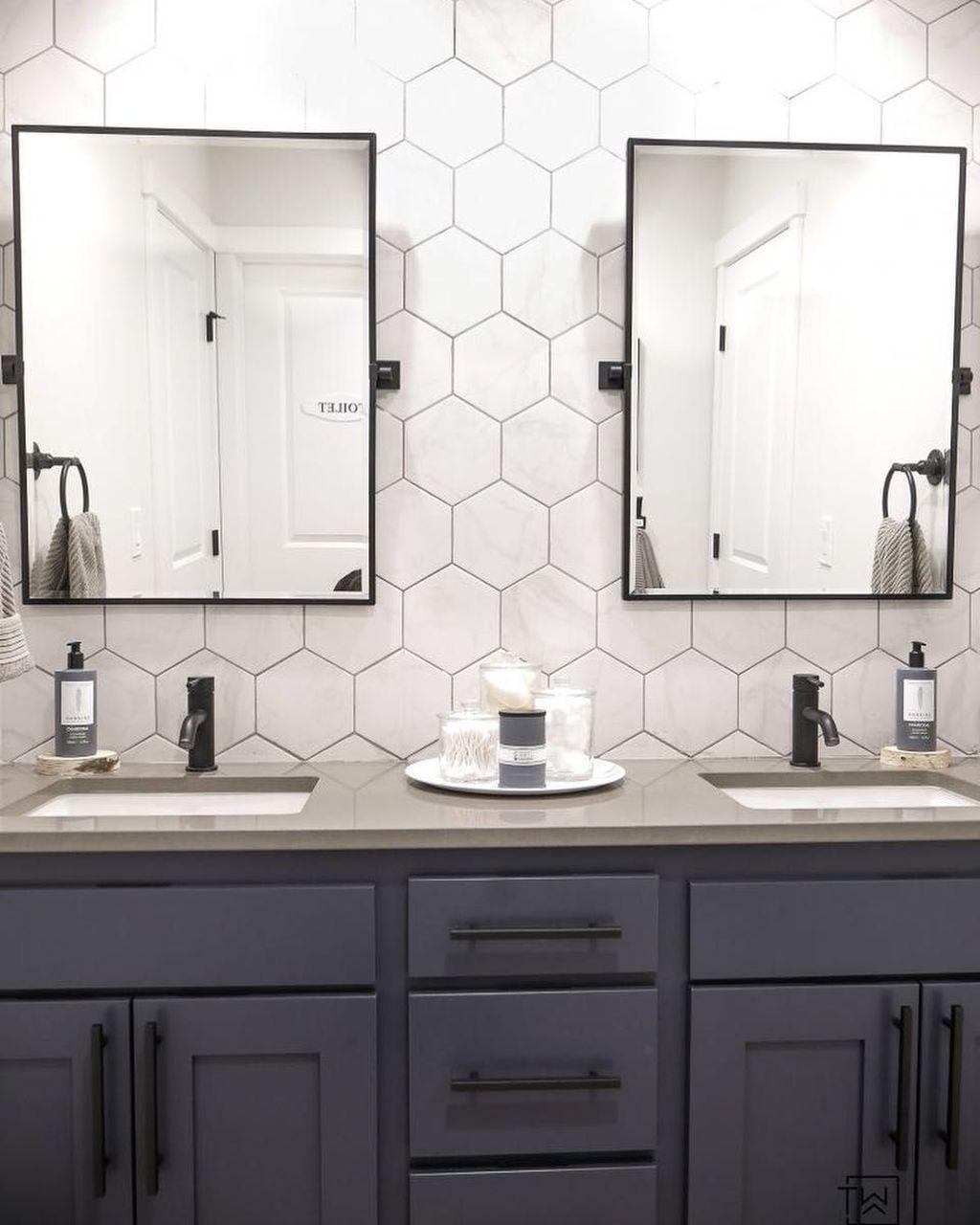 Adorable 45 Lovely Diy Bathroom Vanity Makeover Ideas Bathroom Vanity Makeover Bathroom Vanity Designs Bathroom Interior