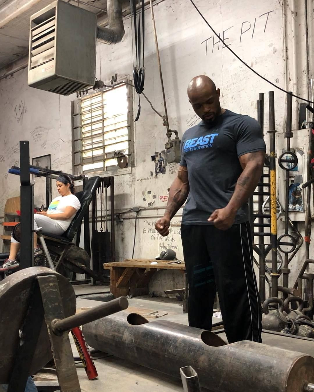 Beast sports staying in shape on a busy schedule