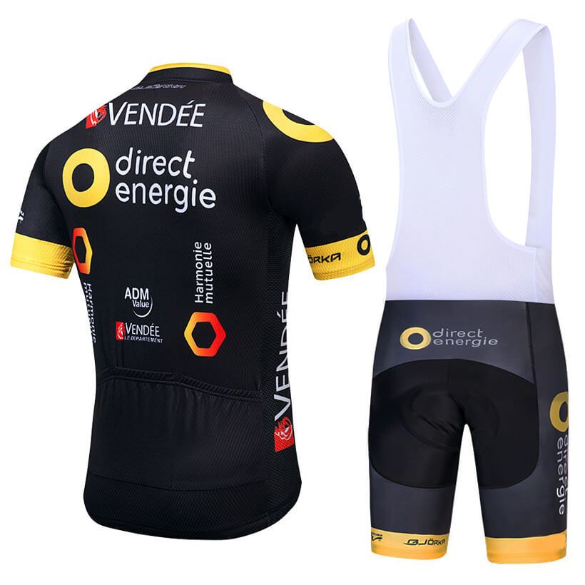 267f04542 2018 TEAM Direct Energie Cycling Jersey