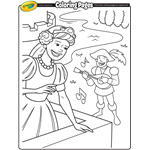 People | Free Coloring Pages | crayola.com in 2020 | Free ...