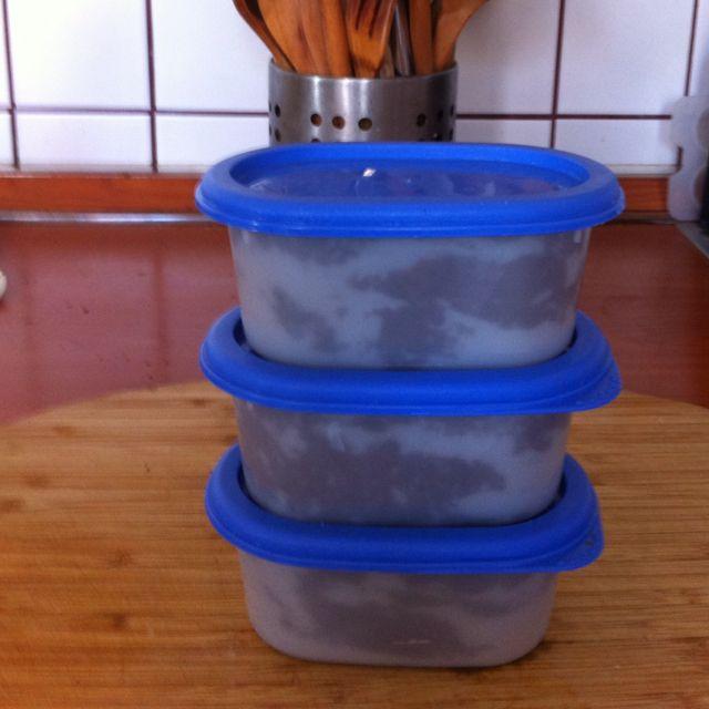 Empacar,etiquetar y a congelar.