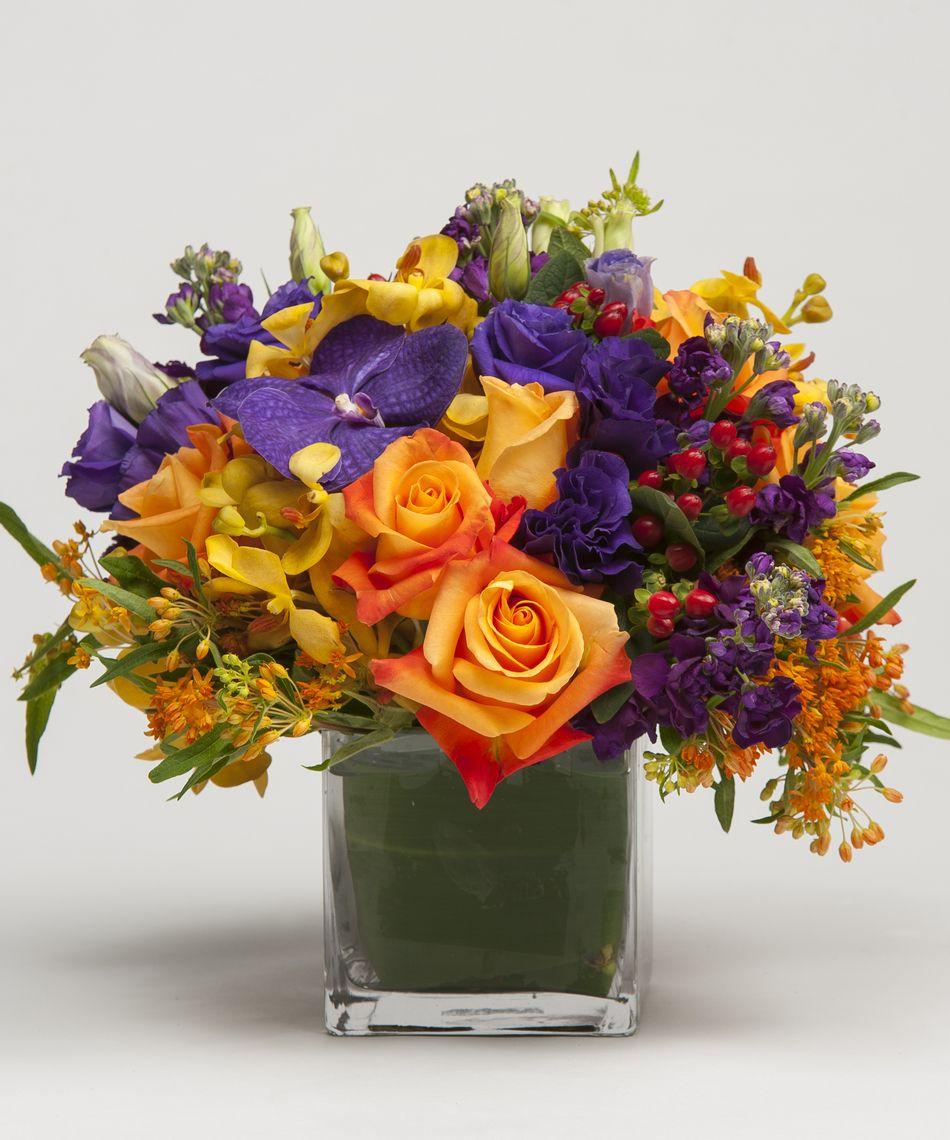 Designer's Choice Vibrant Подарочный букет, Цветы