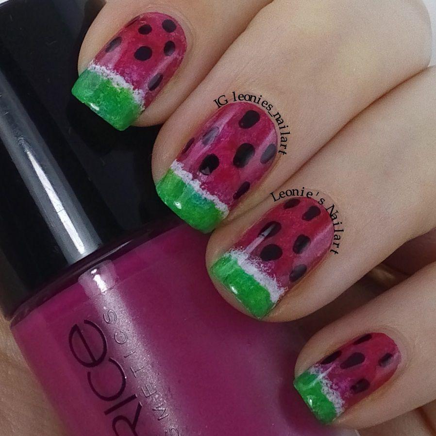Watermelon - Leonie's Nailart