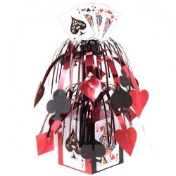 Queen of Hearts centerpiece