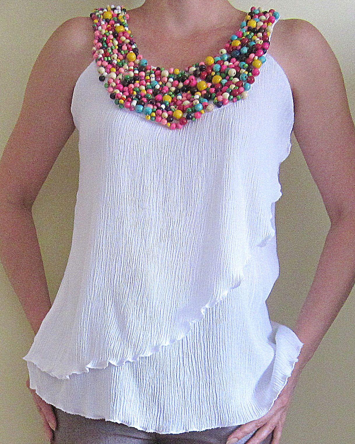 blusas modernas moda de verano