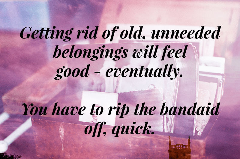 How to Get Rid of Stuff When You're Really, Really Bad at