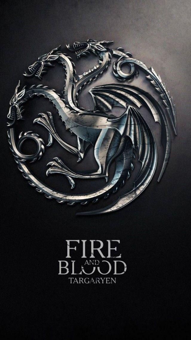 Game Of Thrones Sens Critique : thrones, critique, Thrones, Targaryen, Iphone, Wallpaper, Poster,, Houses,