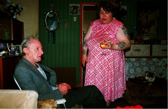 By Richard Billingham, from his work; \