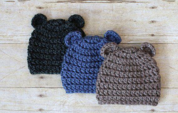 Chunky Baby Bear Hat bac61543b3f7