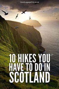 10 Wanderungen in Schottland mit der besten Aussicht - Wandern Blog #travelscotland