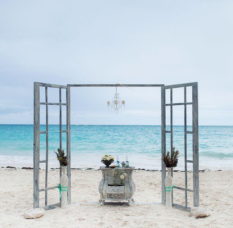 Modern Rustic Beach Wedding In Punta Cana Vals Weddings