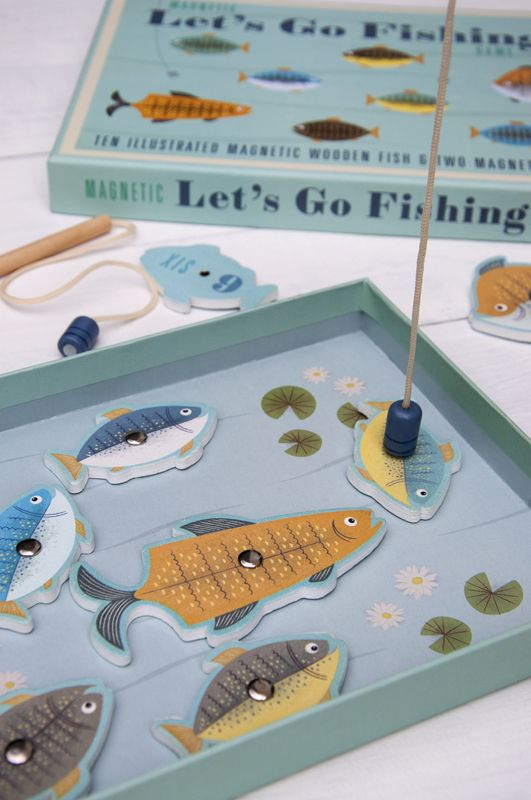 Magnetic Let's Go Fishing Game | DotComGiftShop