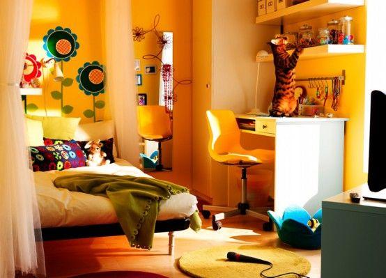 yellow dream room Pinterest Room, Dorm Room and Dorm