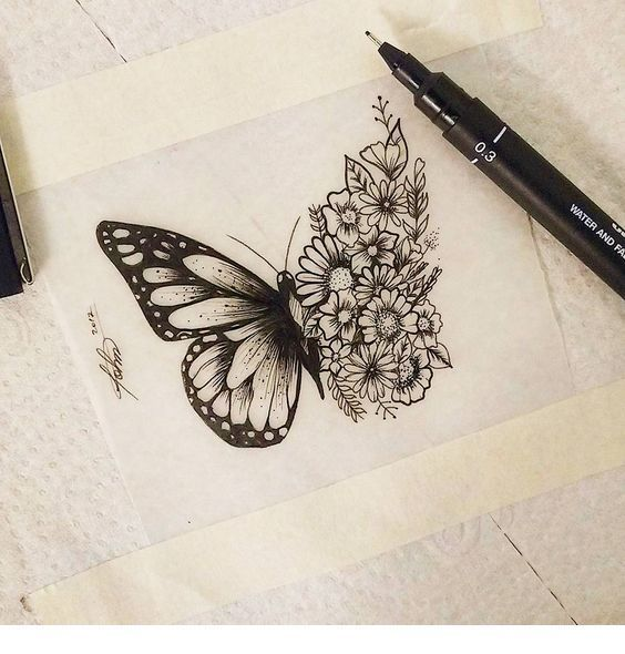 Photo of Butterfly tattoo idea
