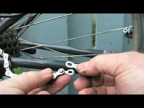 Remove Install A Bicycle Chain Youtube Bike Chain Bike