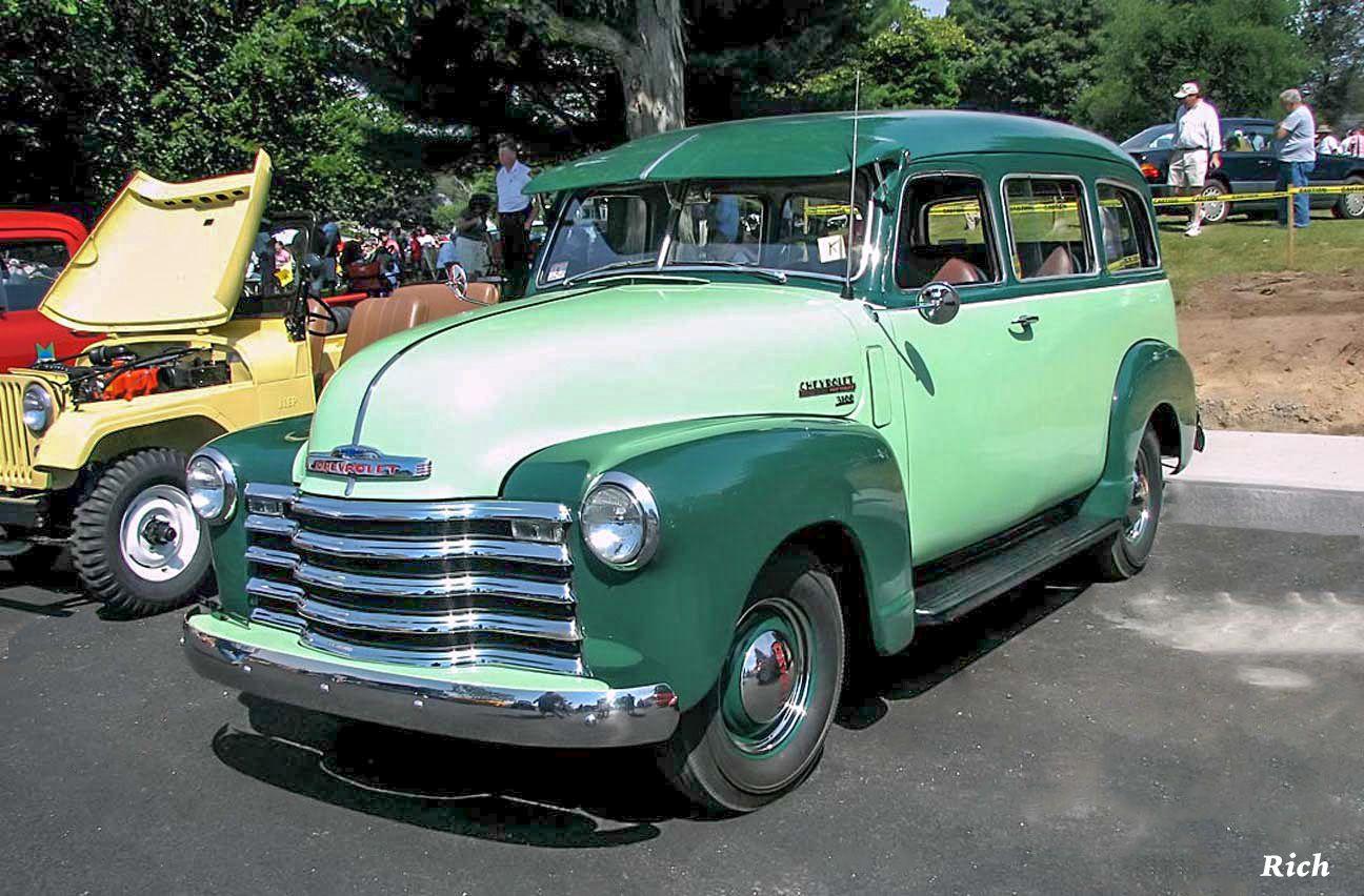 1948 Chevy Suburban Chevrolet Pickup Chevy Suburban