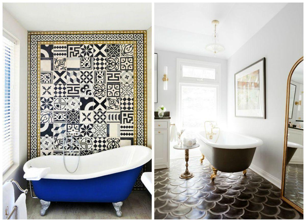 Clawfoot Tub Bathroom Designs Inspiration Fresh Shades Of Bathroom Design Colorful Clawfoot Tubs  Bathroom Design Inspiration