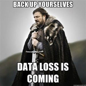 cafa4e346cd35dab5fc657be6174ec7d saving your bacon on world backup day (and every other day),Backup Funny Memes