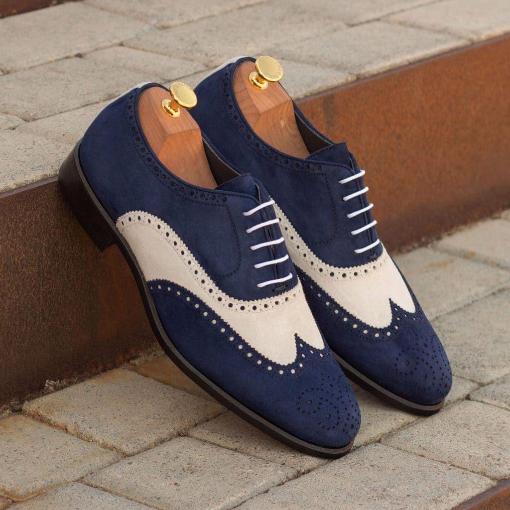 The Full Brogue Model 3400 Custom Made By Robert August Apparel Dress Shoes Men Custom Design Shoes Dress Shoes [ 1024 x 1024 Pixel ]