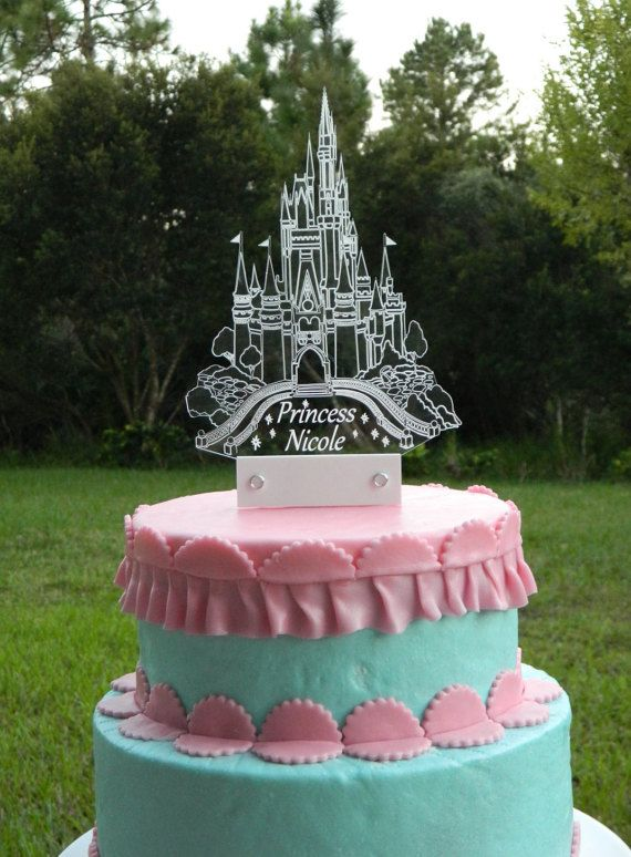 Cinderella Inspired Cake Topper Disney Princess Inspired Cake Topper