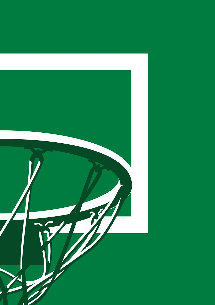 photograph relating to Milwaukee Bucks Schedule Printable called Milwaukee Pounds NBA Basketball Backboard Printable Print