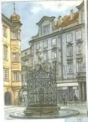 Kubašta Vojtěch - Malé náměstí Praha - Antikvariát Dana Kurovce