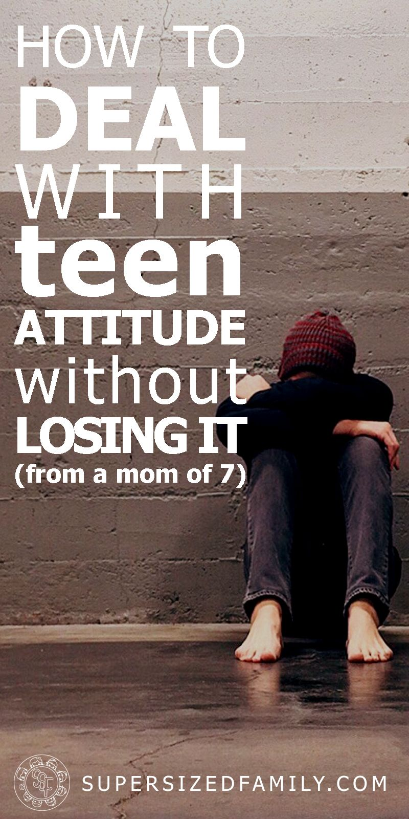 Photo of How to Deal with Disrespectful Teens or Teen Attitude – Supersized Family