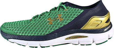 promo code dff5c 1a047 Under Armour Speedform Gemini Running Shoes   University Of Notre Dame