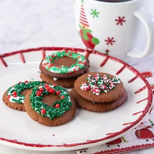 Moravian Molasses Ginger Spice Cookies Gluten Free Christmas