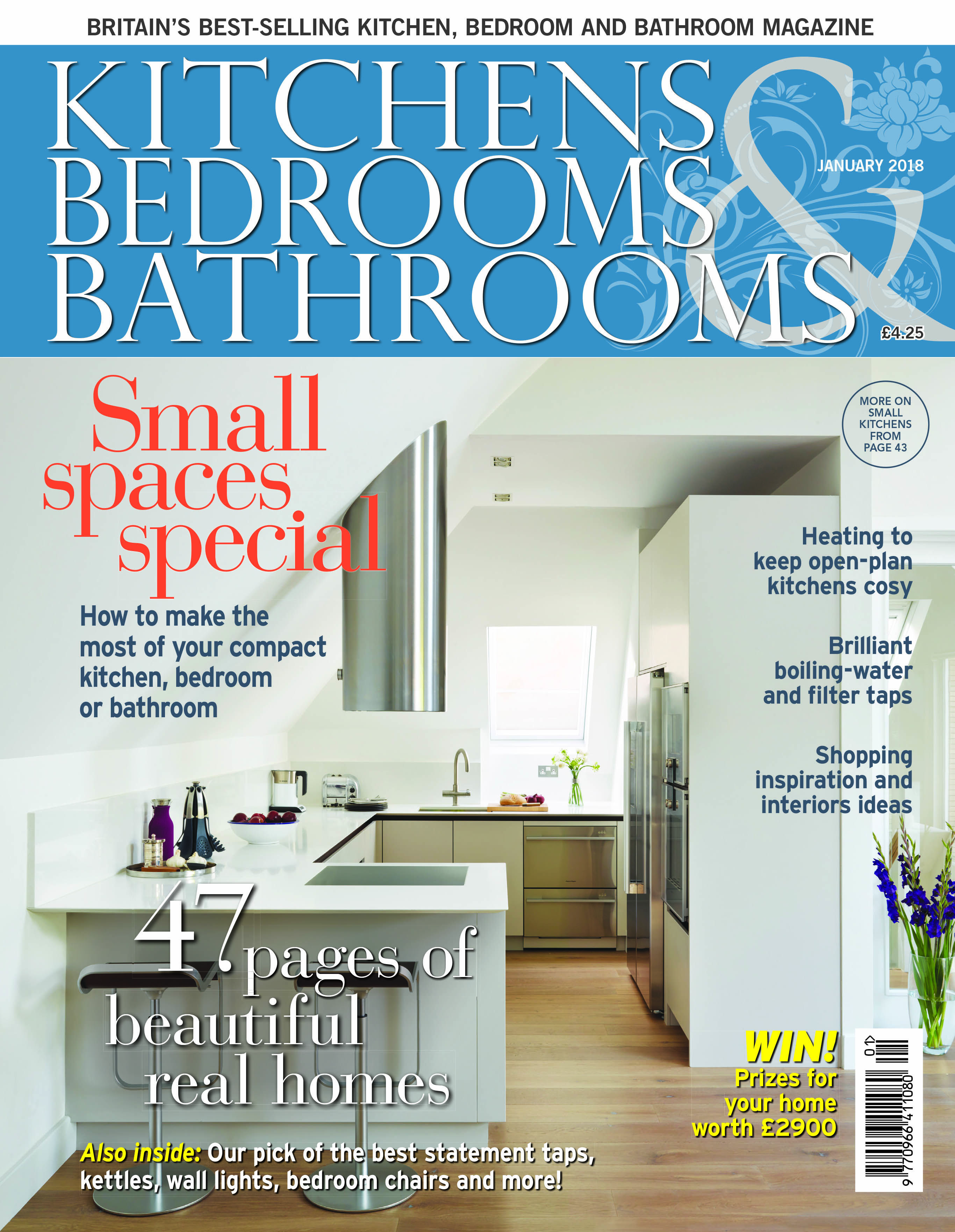 Kitchens Bedrooms & Bathrooms magazine - January 2018 | KBB covers ...