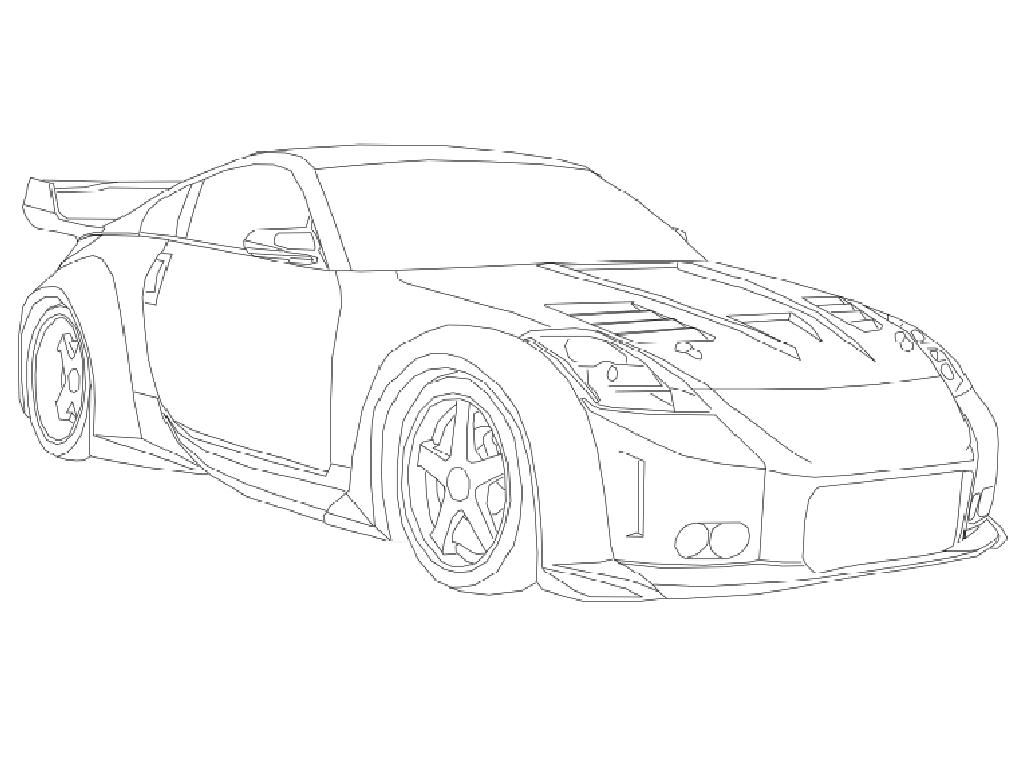 Free Coloring Pages Of Draw A Drift Car Cars Coloring Pages Car Colors Pictures Of Sports Cars