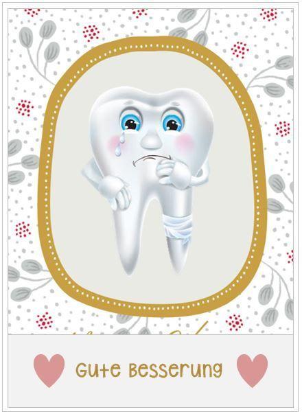 Zahnschmerzen Gute Besserung Gute Besserung Get Well