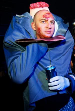 Head on a Platter Costume Idea Funny Halloween Costume