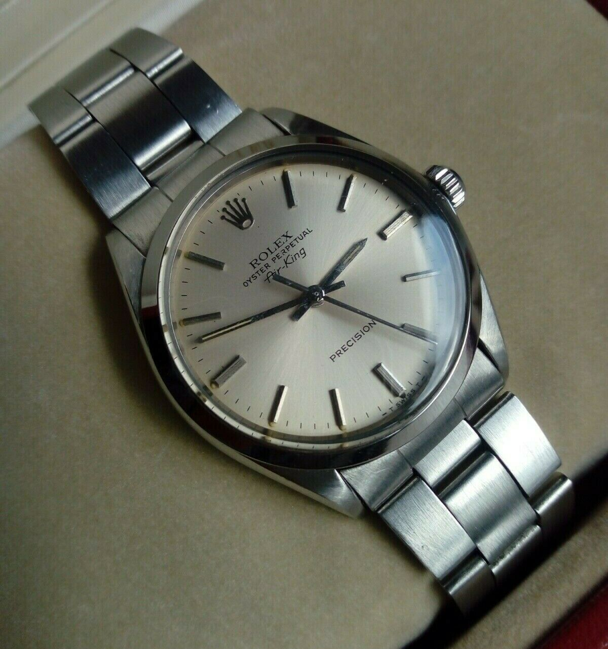 ROLEX AIR KING ref. 5500 cal. 1520 bracciale Oyster 7835