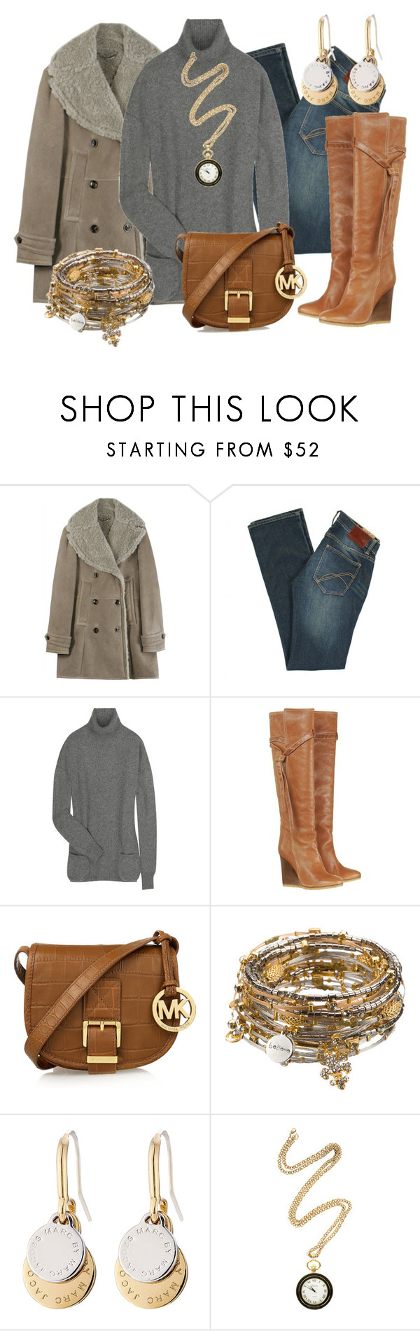 """""""CASUAL"""" by outfits-de-moda2 ❤ liked on Polyvore featuring Burberry, French Connection, Chloé, MICHAEL Michael Kors, Seasonal Whispers, Marc by Marc Jacobs and Kara by Kara Ross"""