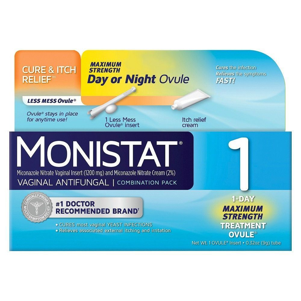 Monistat Day Or Night Combination Pack