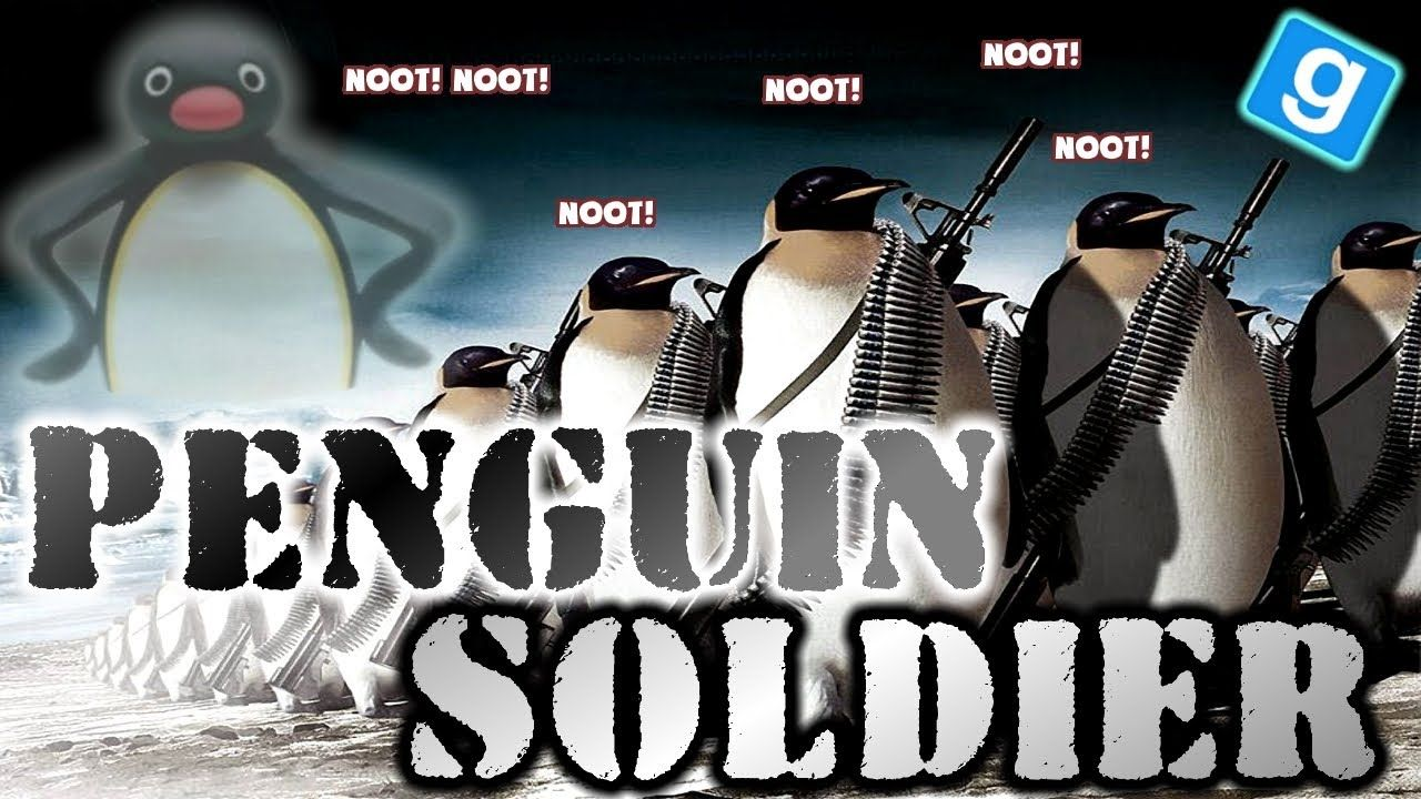 Penguin Soldier - Trolling in Gmod Military RP   LatestGames