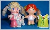 I loved these things! I remember having the plastic house and everything.