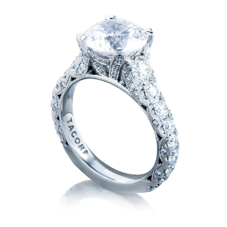 Tacori Engagement Rings RoyalT Round Setting 165ctw