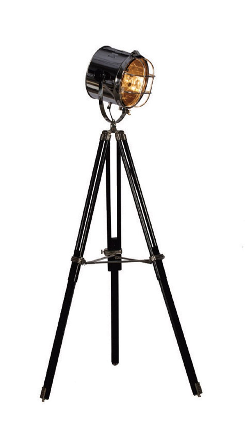 Give An Original Touch To Your Room With The Hollywood Tripod Floor Lamp, A  Recreation Of Classic Hollywood Movie Projectors !