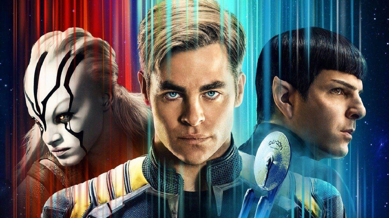 Star Trek Beyond First Trailer Hits A Little Forced Film Star Trek Star Trek Beyond Star Trek Posters