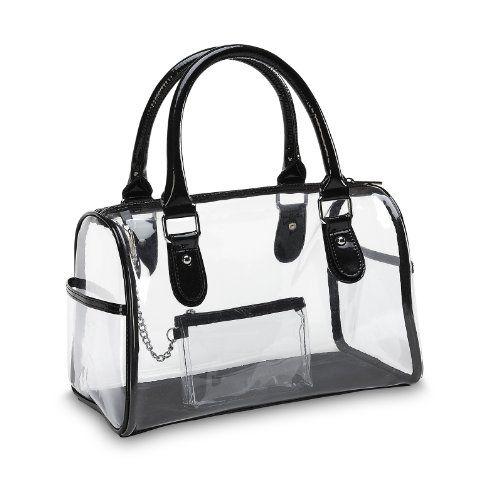 Designer Inspired Clear Satchel Handbag Clear Handbags & More,http ...