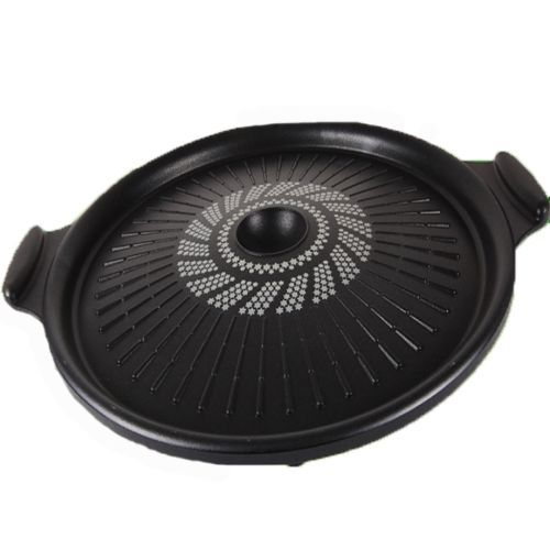 Korean Bbq Diamond Coating Grill Stovetop Barbecue Steak Pork Belly Grill Pan 화덕 주방용품