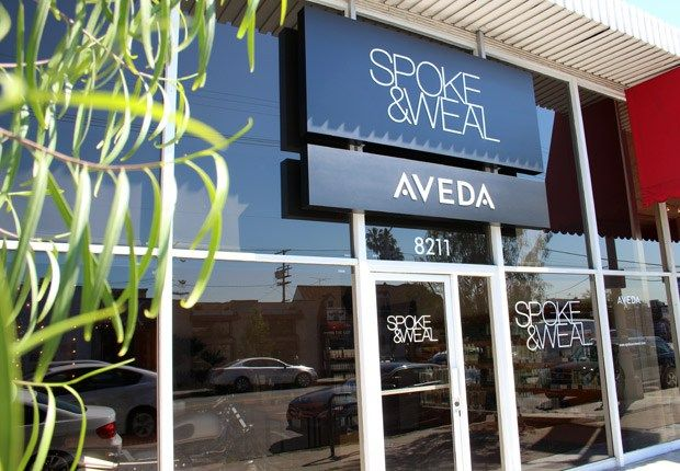 A Visit to the Spoke and Weal Aveda Salon | we heart this