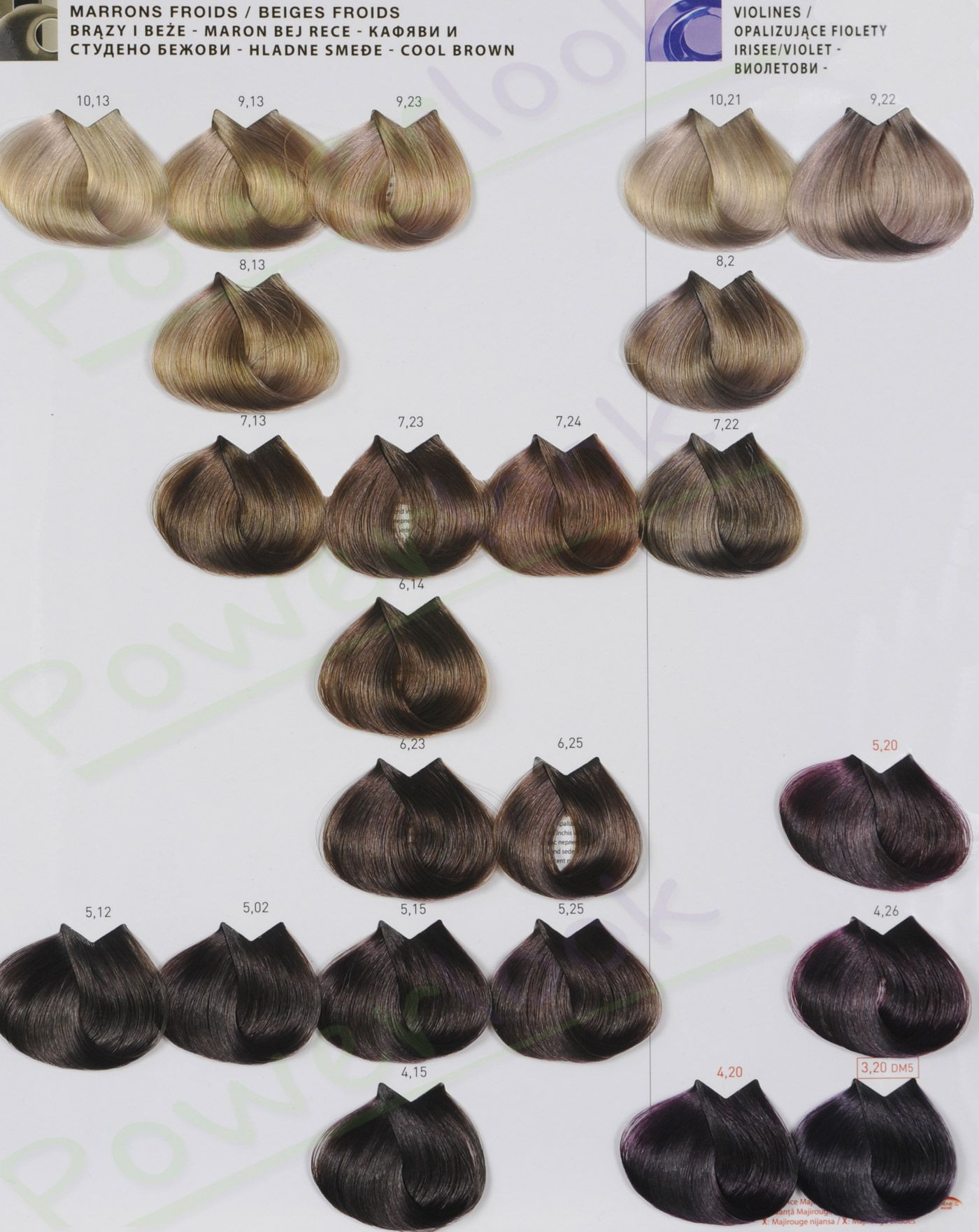 Loreal Paleta Majirel 4 Jpg 1 400 1 761 Pikseli Thick Hair Styles Igora Hair Color Hair Color Chart