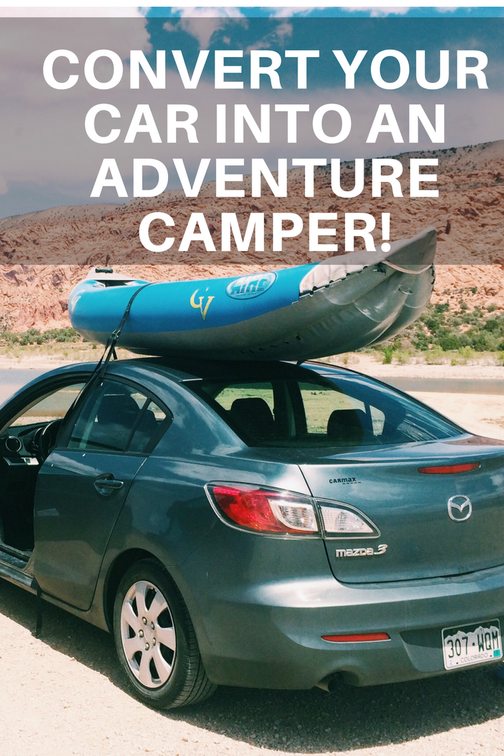 How to convert your four-door car or sedan into an adventure