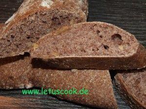 walnuss-dinkel Bbrot  -  სრულმარცვლოვანი იფქლის და ნიგვზის პური-let us cook